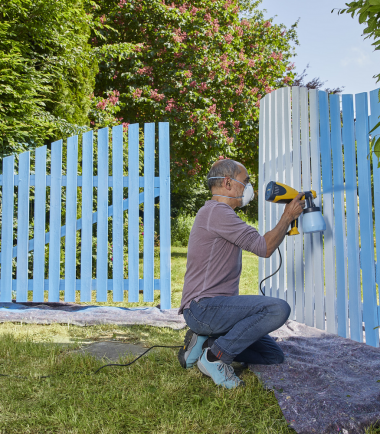 W 100 - Wooden Gate - Sprayquip