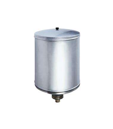 Stainless steel gravity tank 25 lt