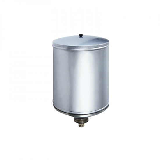 Stainless steel gravity tank 25 lt