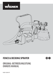 Fence & Decking Sprayer Manual