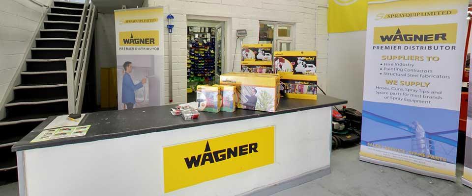 Sprayquip - After Sales Service - Wagner