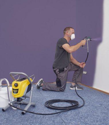Indoor Spraying - Wagner - Control Pro 250 M - Sprayquip-Ltd