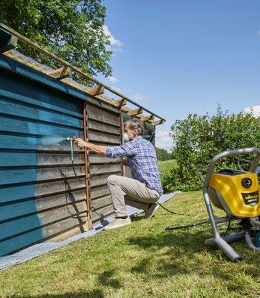 Outdoor Spraying Wagner Control Pro 250 M Sprayquip Ltd
